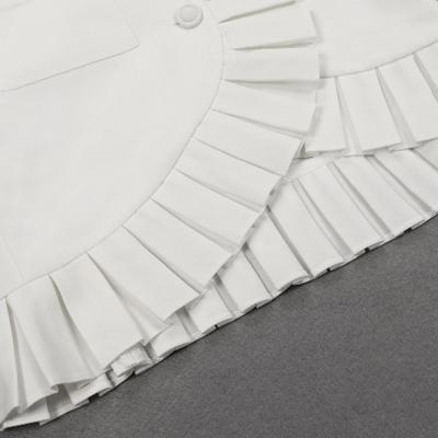 Deep-V-Folding-Blazer-Mini-Dress-K656-1