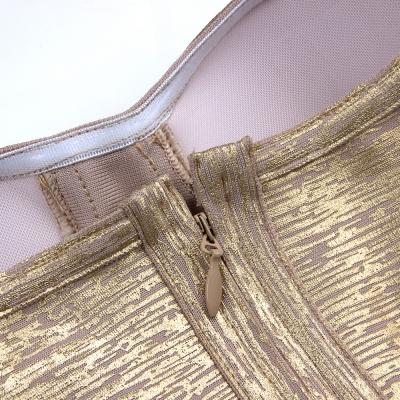 Metallic-Off-Shoulder-Bandage-Dress-K714-16