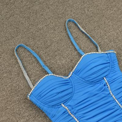 Ruched-Mesh-Strap-Bandage-Dress-K799-6