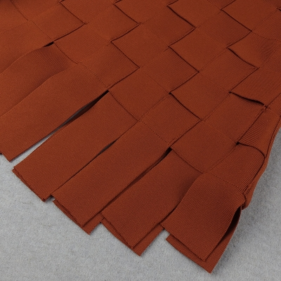 Stripe-Knitted-Bandage-Dress-K812-1
