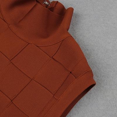 Stripe-Knitted-Bandage-Dress-K812-14