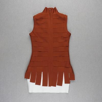Stripe-Knitted-Bandage-Dress-K812-2