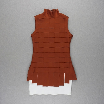 Stripe-Knitted-Bandage-Dress-K812-3