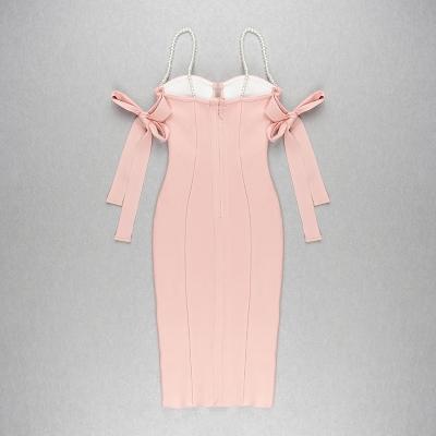 Pearl-Strap-Bandage-Dress-K813-3