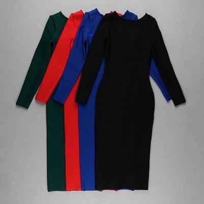 Zipper-Long-Sleeve-Bandage-Dress-K820-54