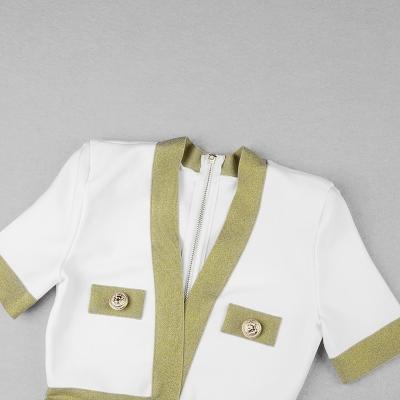 Golden-Silk-Short-Sleeve-Bandage-Dress-K821-23
