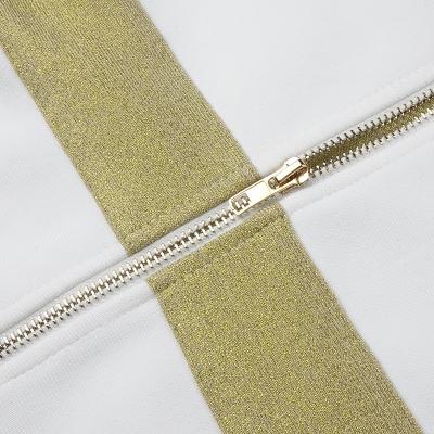 Golden-Silk-Short-Sleeve-Bandage-Dress-K821-24