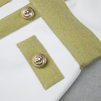 Golden-Silk-Short-Sleeve-Bandage-Dress-K821-26
