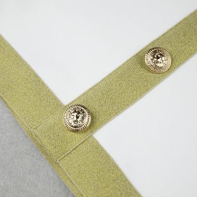 Golden-Silk-Short-Sleeve-Bandage-Dress-K821-27