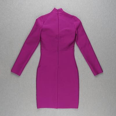 Hollow-Out-Lace-Gauze-Bandage-Dress-K82260