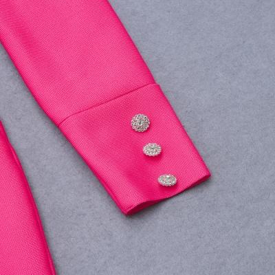 Puff-Sleeve-Bandage-Dress-K823-1