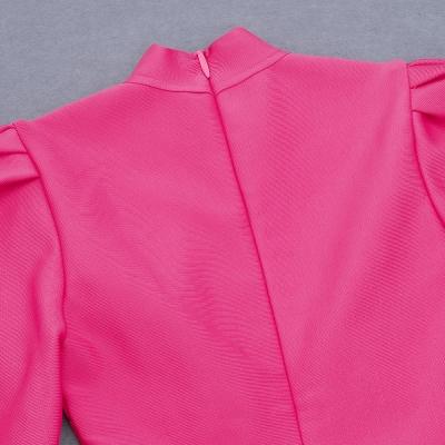 Puff-Sleeve-Bandage-Dress-K823-2