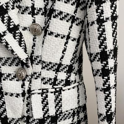 Plaid-Ladies-Suit-K863-1