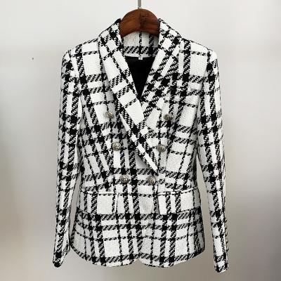 Plaid-Ladies-Suit-K863-11