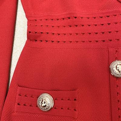 Deep-V-Long-Sleeve-Bandage-Dress-K864-4