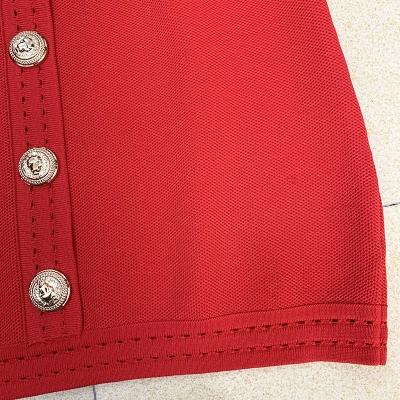 Deep-V-Long-Sleeve-Bandage-Dress-K864-5
