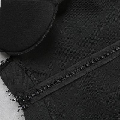 Gridding-Blink-Hemline-Bandage-Dress-K882-1