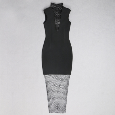 Gridding-Blink-Hemline-Bandage-Dress-K882-5