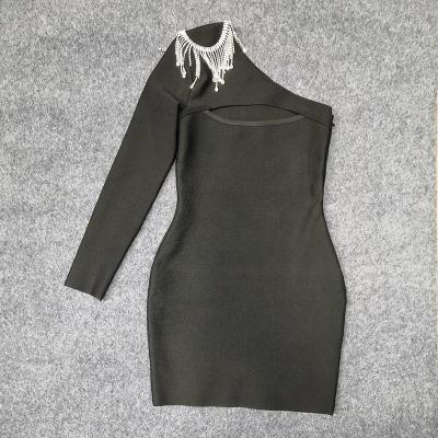 One-Shoulder-Hollow-Out-Bandage-Dress-K942-5
