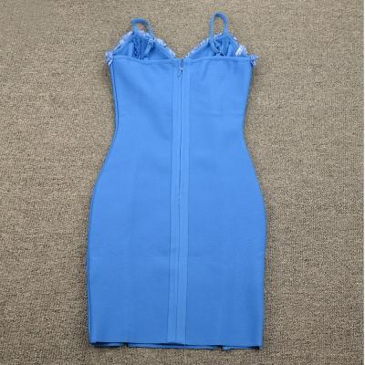 Flower-Stripe-Bandage-Dress-K955-20