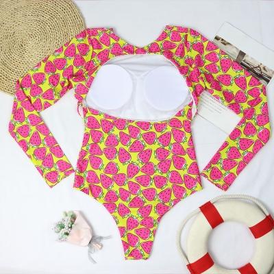 Long-Sleeve-Printing-Swimsuit-S016-3