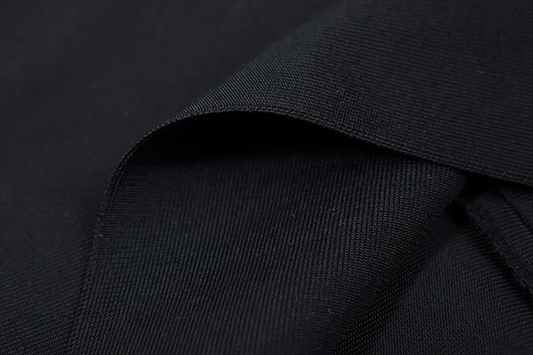 2016 New Sexy Off The Shoulder Halter Bandage Dress White KL1019 (22)