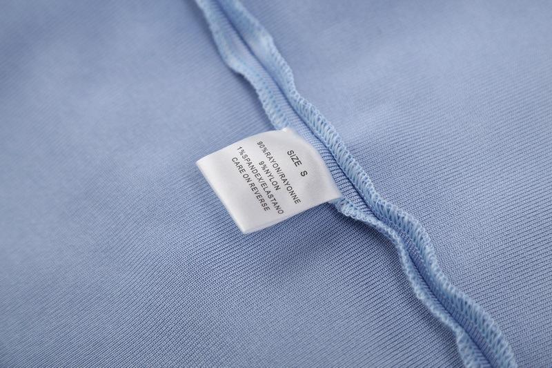 Off The Shoulder Bandage Dress Halter Neck Hollow Out Mini Dress KD002 (5)