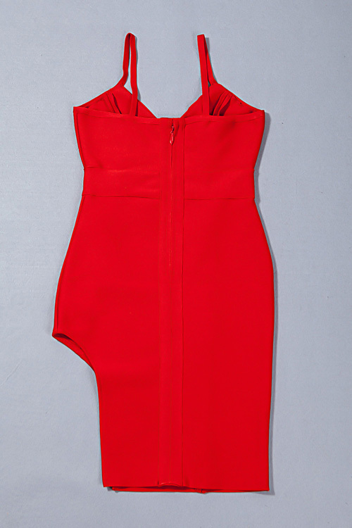 Split Short Mini Strap Bandage Dress KH1744 (59)