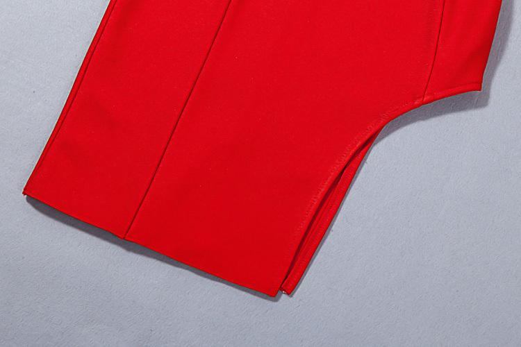 Split Short Mini Strap Bandage Dress KH1744 (77)