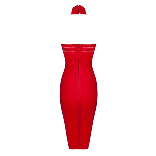 Backless Halter Sexy Bandage Dress KH1784 10
