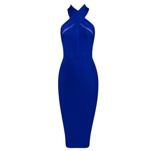 Backless Halter Sexy Bandage Dress KH1784 6
