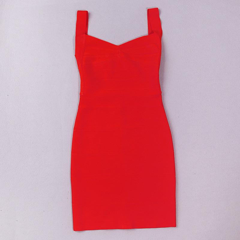 Backless Strap Bandage Dress Mini Dress KH612 (16)