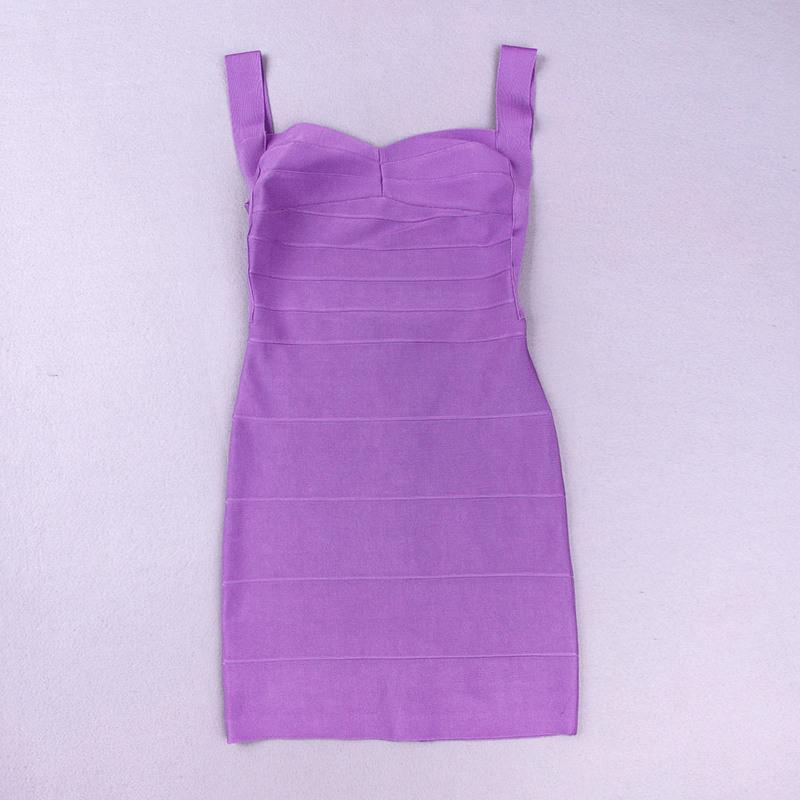 Backless Strap Bandage Dress Mini Dress KH612 (21)