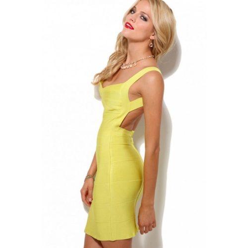 Backless Strap Bandage Dress Mini Dress KH612 3