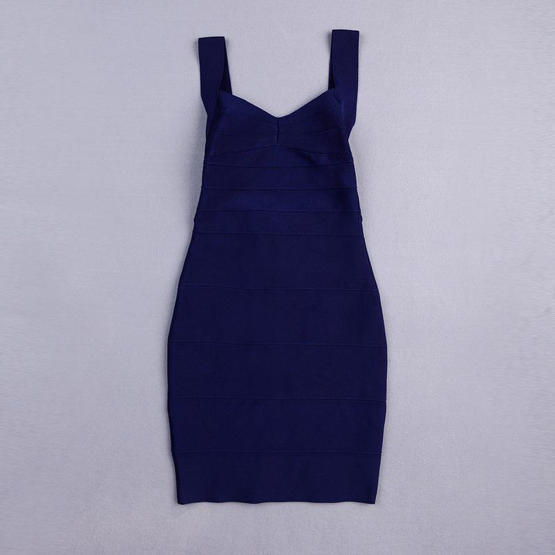 Backless Strap Bandage Dress Mini Dress KH612 (30)