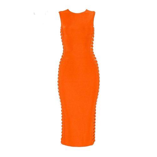 Both Side weaved Bandage Dress KL1022 12