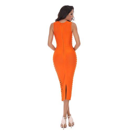 Both Side weaved Bandage Dress KL1022 4