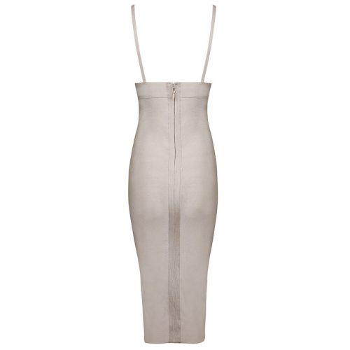 Deep V Neck Strap Bandage Dress KH1166 5