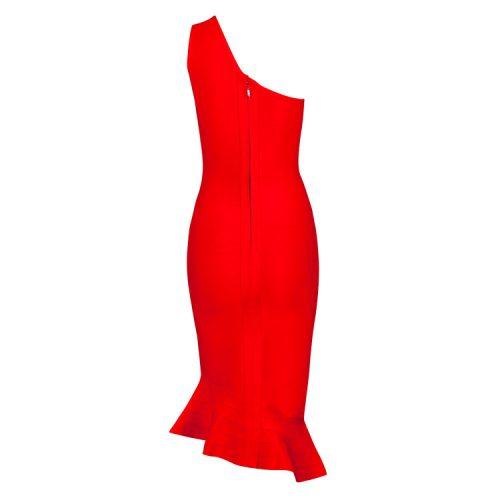Elegance Mermaid One Shoulder Bandage Dress KH1851 14
