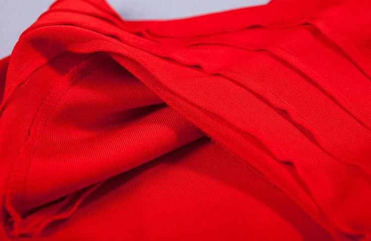 Elegance Mermaid One Shoulder Bandage Dress KH1851 (2)