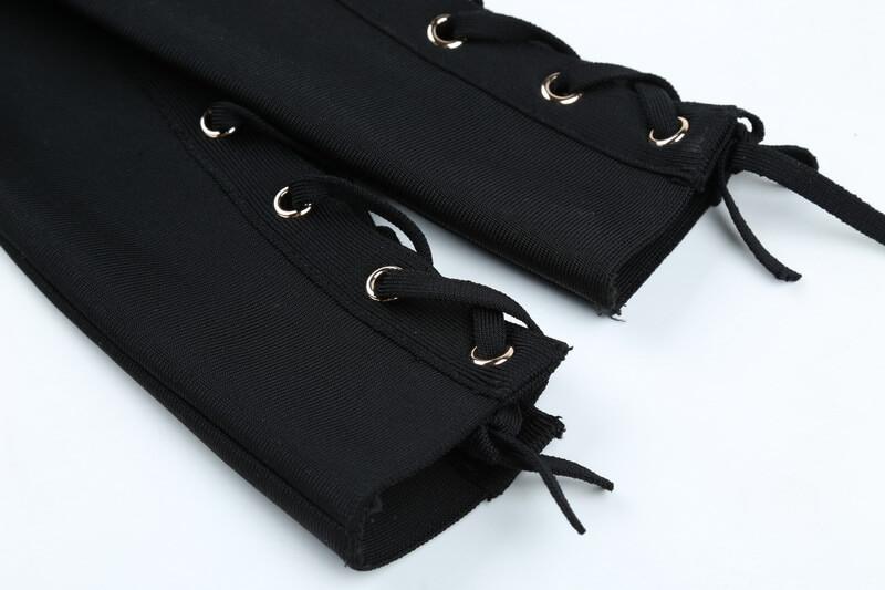 long-sleeve-lace-up-stripe-bandage-dress-two-piece-set-kl1068-34