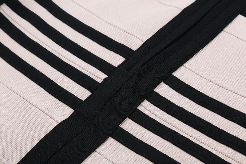 long-sleeve-lace-up-stripe-bandage-dress-two-piece-set-kl1068-41