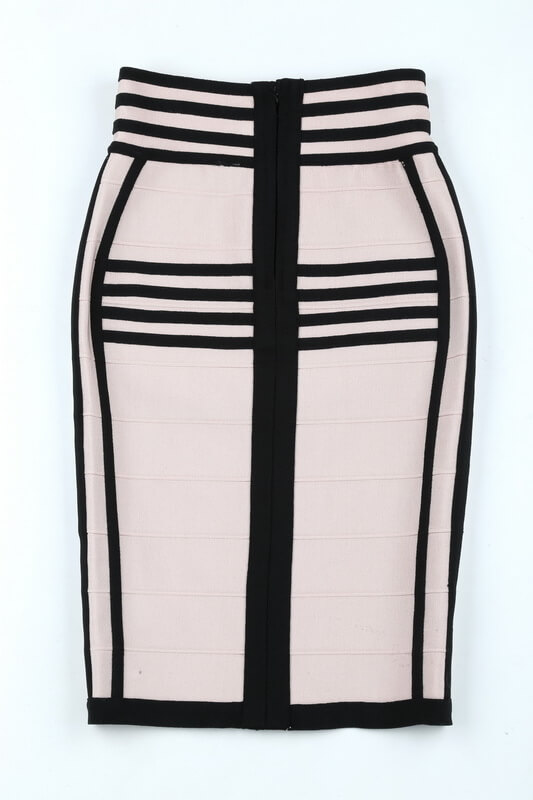 long-sleeve-lace-up-stripe-bandage-dress-two-piece-set-kl1068-42