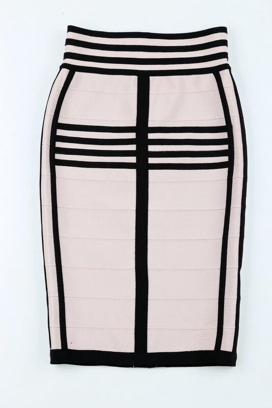 long-sleeve-lace-up-stripe-bandage-dress-two-piece-set-kl1068-47