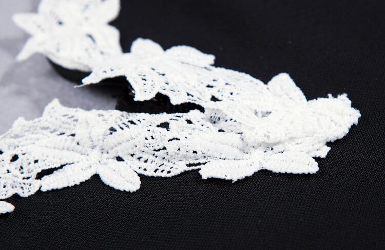 new-deep-v-sheath-floral-club-lace-bandage-dress-kh1768-10