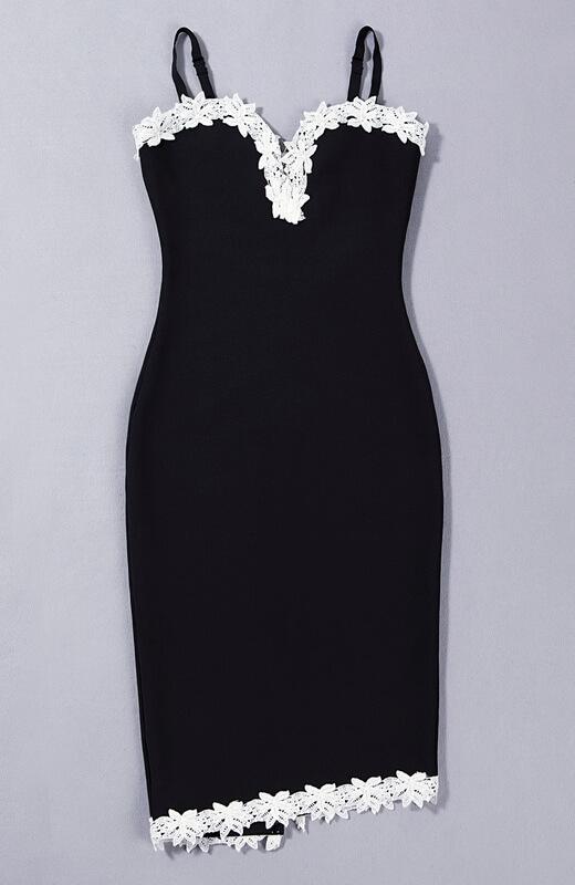 new-deep-v-sheath-floral-club-lace-bandage-dress-kh1768-14