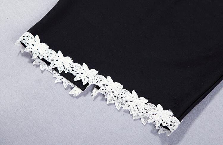 new-deep-v-sheath-floral-club-lace-bandage-dress-kh1768-8