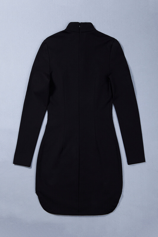 rivet-studded-hollow-out-long-sleeve-mini-bodycon-dress-kh2521-8