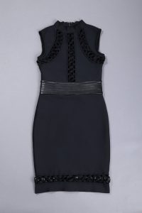black-sleeveless-hollow-out-lace-up-sexy-slim-bodycon-bandage-dress-kh2683-2