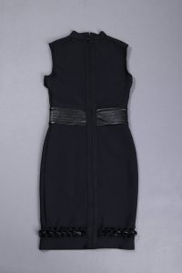 black-sleeveless-hollow-out-lace-up-sexy-slim-bodycon-bandage-dress-kh2683-3